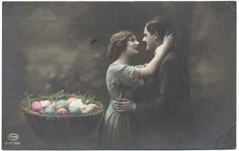 Поздравляю с праздником Св. Пасхи! 1914 год